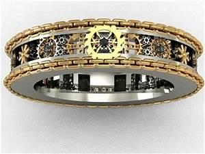 men gear ring mens gear ring no 3 rings for men With mens gear wedding ring
