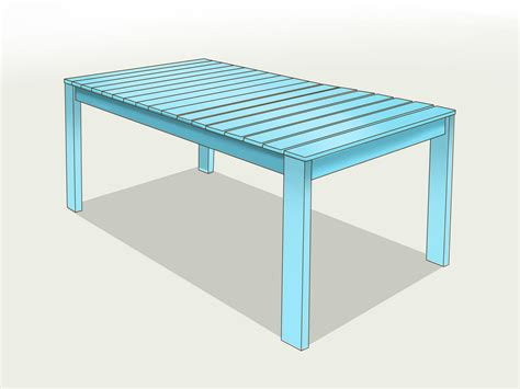 how to make your own garden table 12 steps with pictures