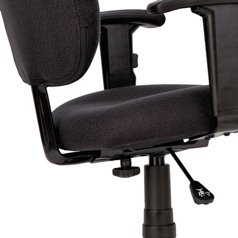 essentia series swivel task chair with adjustable arms by