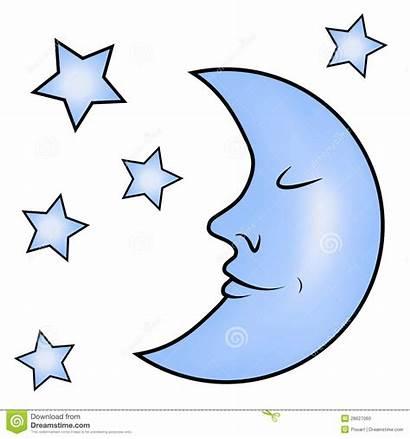 Moon Clipart Stars Clip 20blue Crescent Cliparts
