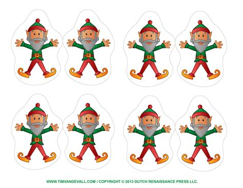 printable christmas cutouts decorations festival