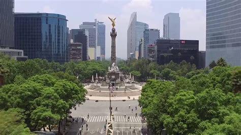 Drone Por Paseo De La Reforma Youtube