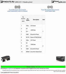 Usb Header Wiring Diagram