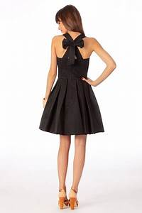 sinequanone robe dos noeud ottoman la petite robe noire With robe noeud dans le dos