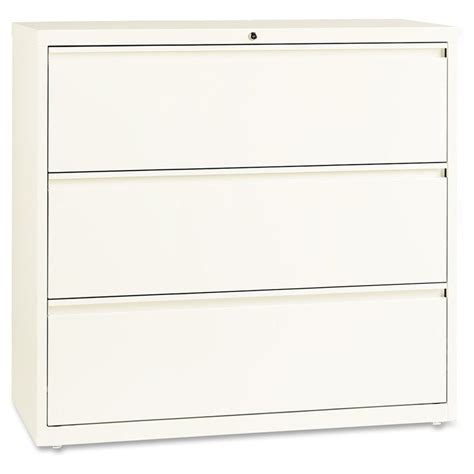 lorell 3 drawer lateral file cabinet lorell 3 drawer lateral file cabinet in cloud llr22956