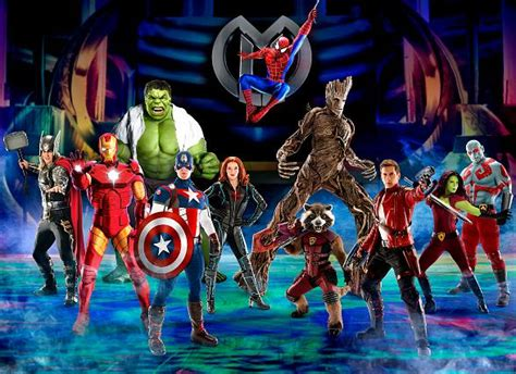 """Marvel Universe Live! Announces New Show, """"age Of Heroes"""