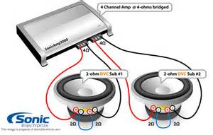 similiar 2 ohm sub wiring diagram keywords subwoofer wire diagram as well 4 ohm subwoofer wiring diagram on dual