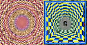 illusion d39optique With toute les couleurs de peinture 9 illusion doptique