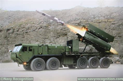 NSM anti-ship missile to be tested from U.S. Army HEMTT ...