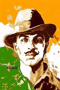 Bhagat Singh Paper Print - Personalities posters in India