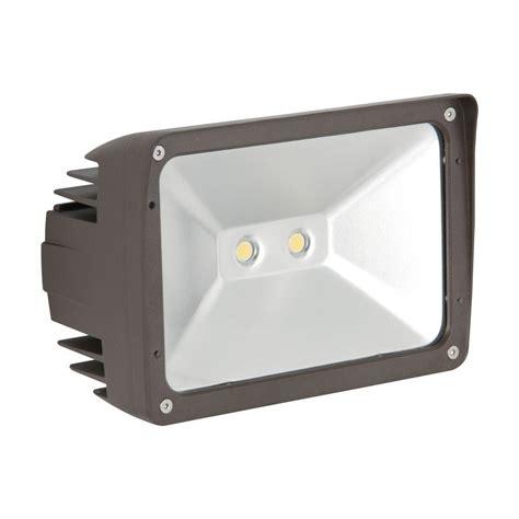 home depot flood lights luminance adl lumin 30 watt bronze outdoor led flood light