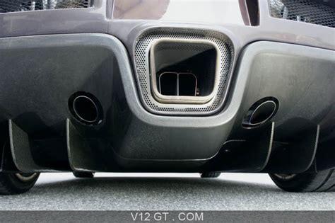 Bugatti Veyron Détail Diffuseur/échappement / Bugatti