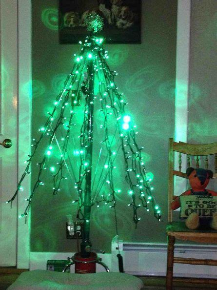 how to make an umbrella tree for christmas trees