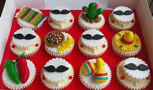 Mexican Themed Cupcakes - cake by Elaine's Cheerful