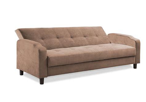 Reno Convertible Sofa Light Brown By Serta Lifestyle
