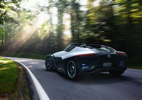 new nissan sports car nissan bladeglider electric sports car puts efficiency