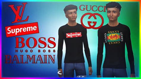 bape premium t shirt the sims 4 designer hypebeast clothes gucci supreme
