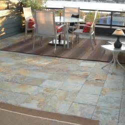 outdoor slate floor tiles contemporary patio chicago by home infatuation