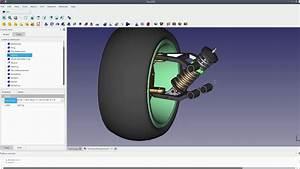 Freecad Car Suspension Motion Study