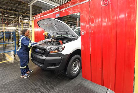 R10bn and the record production and exports from east london plant contributed to the overall jump in. Employees working in the Ford plant in Pretoria, South Africa 2 - ..:: AUTO REPORT AFRICA