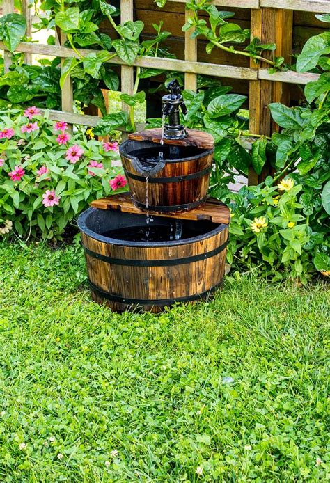 outdoor fountain ideas     garden fountain