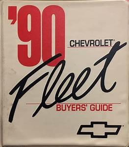 1990 Chevrolet C  K Pickup Truck Repair Shop Manual Original