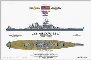 Uss Arizona  Uss Missouri Diagrams The Beginning  U0026 The End