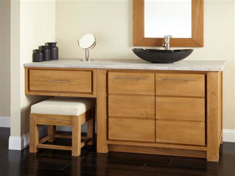 bathroom vanity with sink and makeup area bathroom vanities with makeup area vessel sink vanity