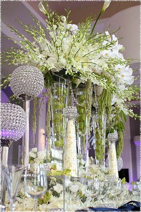 romantique wedding reception decorations plastic