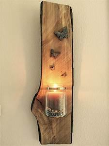 Deko Ideen Holz : einmachglas auf holz holz bastel ideen pinterest ~ Articles-book.com Haus und Dekorationen