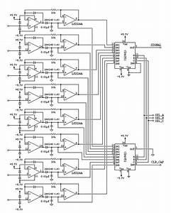 Midi Drum Machine Analog Input Schematic