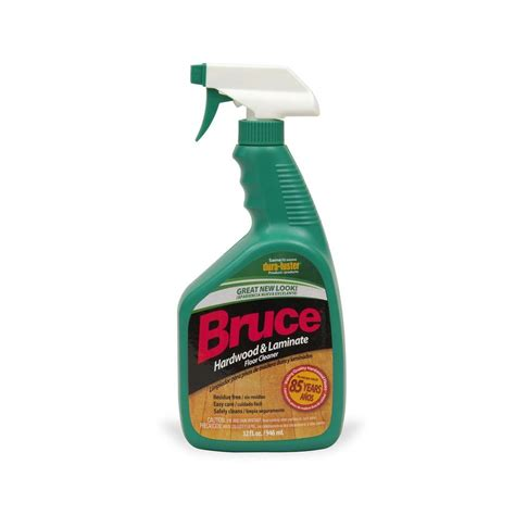 hardwood floor cleaner bruce 32 oz hardwood and laminate floor cleaner trigger spray ws109 the home depot
