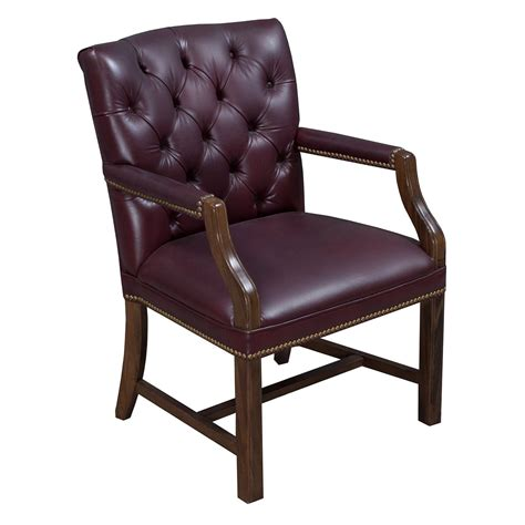 leather tufted chair white traditional walnut tufted leather side chair burgundy