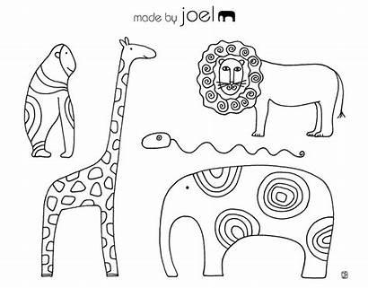 Coloring Sheets Sheet Joel Animal Colouring Animals