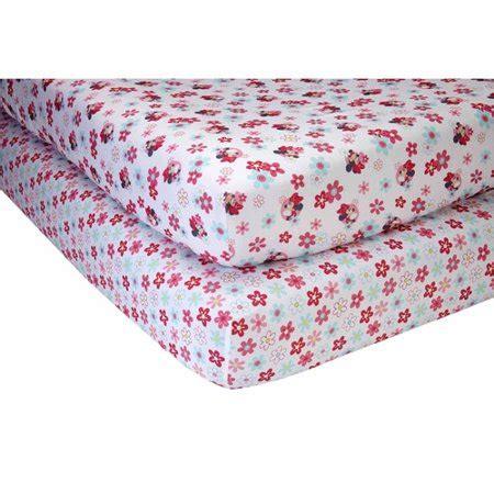 minnie mouse crib set walmart disney baby bedding sweet minnie mouse set of 2 crib