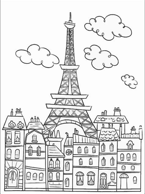 images  paris coloring pages  pinterest