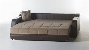 Futons daybeds sofa beds premium single convertible for Sectional sleeper sofa with storage and pillows
