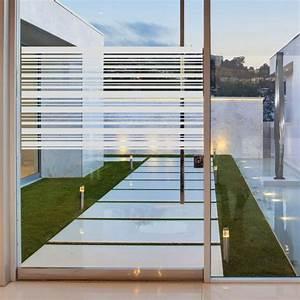 Stickers Pour Vitre : stickers muraux pour portes de douche lignes horizontales ~ Melissatoandfro.com Idées de Décoration