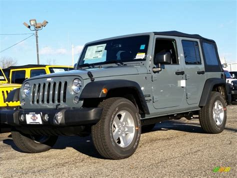 jeep wrangler unlimited colors 2015 anvil jeep wrangler unlimited sport 4x4 100381160