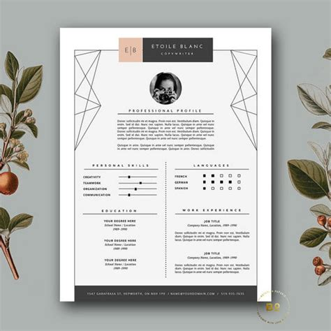 10 fashion designer resume templates free word excel pdf