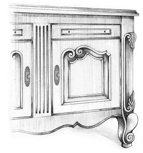Wood Embellishments For Cabinets by Hardware Resources Launches Unique Carved Cabinet And