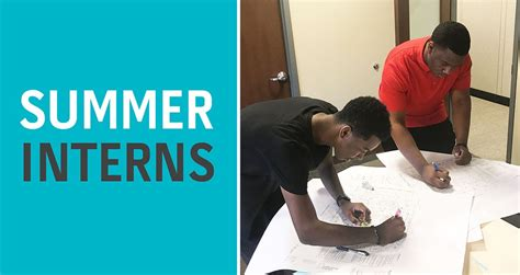 Summer Internships  Construction Career Development