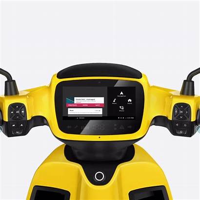 Scooter Electric Tesla Moped Smart Cockpit Cars
