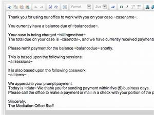 invoicing clients With invoice text template