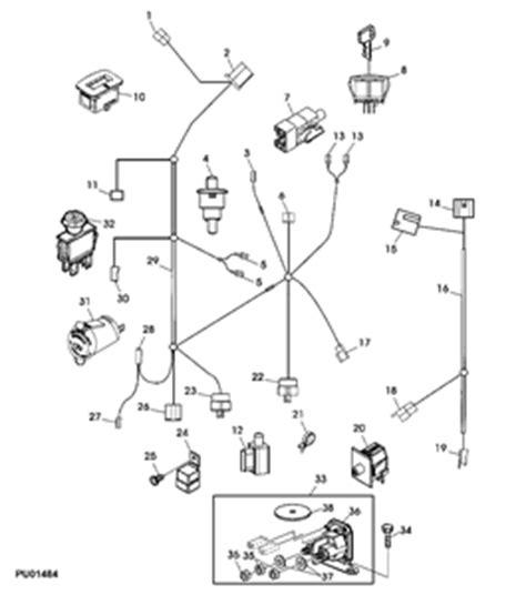 Solved John Deere Wiring Diagrams Fixya