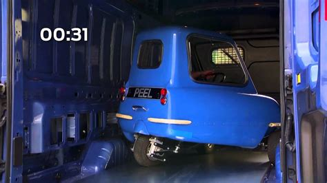 worlds smallest car meets fords biggest van youtube