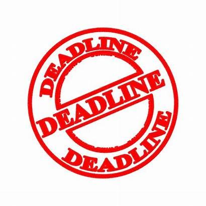 Deadline Clipart Newsletter Tax Ministry Clip Deadlines