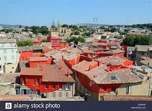 Garage Salon De Provence : view over salon de provence painted red art installation by felice stock photo royalty free ~ Gottalentnigeria.com Avis de Voitures