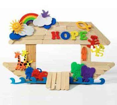 noah s ark frame large vbs 2014 bible school crafts 112   f9659d9c753b45869ef56ba37cd958e4