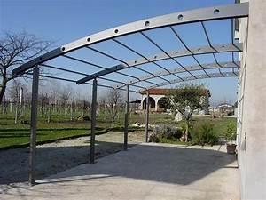 Tettoie in ferro tettoie da giardino